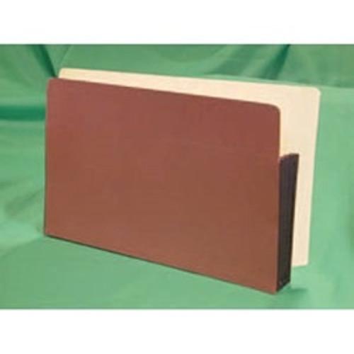 "Tabbies E1526EP - END-TAB EXPANSION POCKETS, 5 PIECE END TAB PREMIUM EXPANSION POCKET PAPER GUSSET, RED ROPE, 9-1/2""H x 15-1/2""W x 3-1/2""D, 50/CASE"