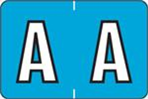 """PMA Alpha Labels 3900 Series - Letter A - 1"""" H x 1-1/2"""" W - Sheets for File Box - 225 Labels per Pack - 25 Sheets per pack"""