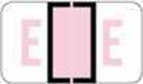 """POS 3400 Series (Sheets) - Letter E - Lilac - 15/16"""" H x 1-5/8"""" W - 225/Pack"""