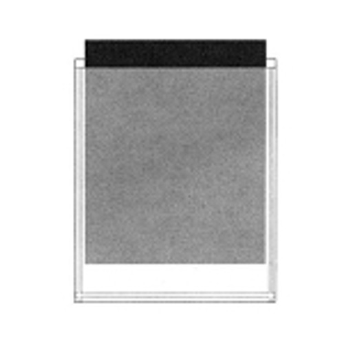 """Poly File Pocket 8.5"""" x 11"""" - Letter Size - Self Adhesive - Opening at Top - Clear - 12/Pack"""