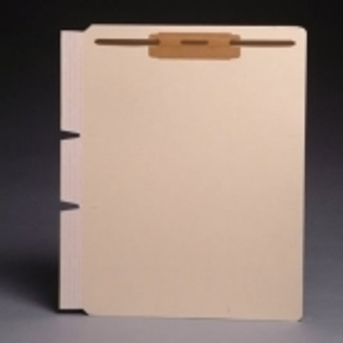 "Self-Adhesive Divider with 2"" Fastener at top - Standard Side Flap - 11 Pt. Manila -  Box of 100"