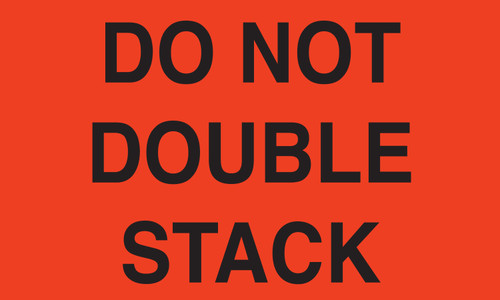 "Tabbies 43511 - DO NOT DOUBLE STACK - FL RED - 3"" X 5"" - 500/ROLL"