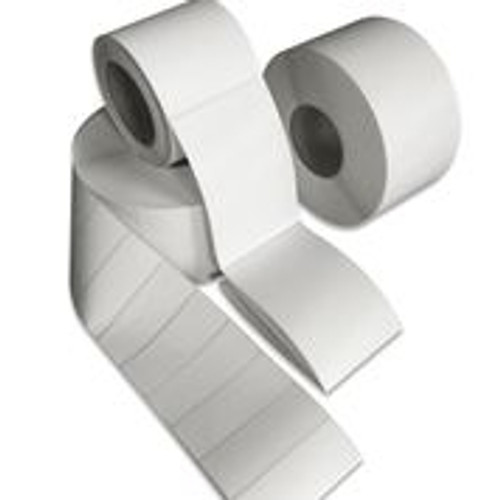 "Tabbies 40044 - DIRECT THERMAL LABEL, 3"" CORE - WHITE - 4"" X 4""  - 1,400/ROLL"