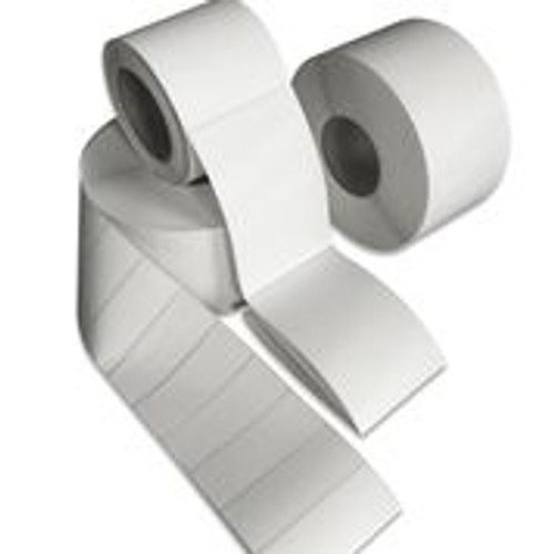 "Tabbies 40248 - THERMAL TRANSFER LABEL, 3"" CORE - WHITE - 4"" X 8"" - 750/ROLL"
