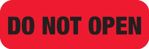 DO NOT OPEN  RED/BLK  250/RL