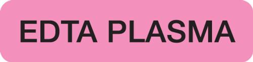 EDTA PLASMA  FL PK/BLK  500/RL