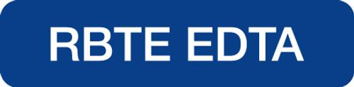 RBTE EDTA  BLUE/WHT  500/RL