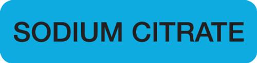 SODIUM CIT  FL BL/BK  500/RL
