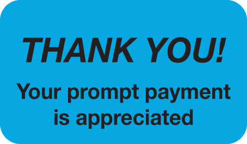 THANK YOU YOUR PRM   -BLUE/BLK