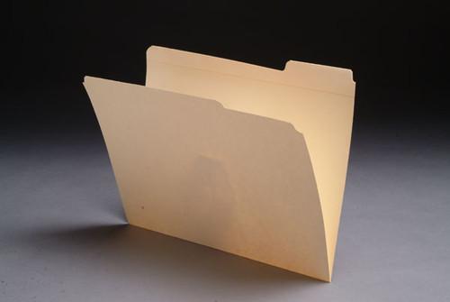 Top Tab File Folders - 1/3 Cut Reinforced Top Tab - Letter -11 Pt. Manila -   50/Box - F1025
