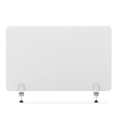 """Smead 2357U00-01 - MAGNETIC SINGLE PANEL-DOUBLE SIDE CLEAR GLASS PAINTED WHITE COLOR  27""""W×24''H× 6.4MM THICKNESS."""