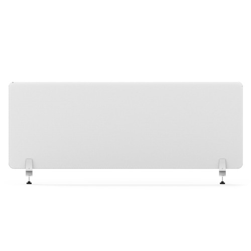 """Smead 3640U00-01 - MAGNETIC SINGLE PANEL-DOUBLE SIDE CLEAR GLASS PAINTED WHITE COLOR   45""""W×24''H× 6.4MM THICKNESS."""