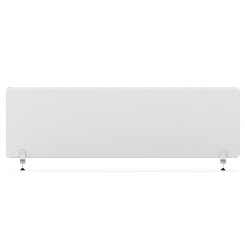 """Smead 3641U00-01 - MAGNETIC SINGLE PANEL-DOUBLE SIDE CLEAR GLASS PAINTED WHITE COLOR  55""""W×24''H× 6.4MM THICKNESS."""