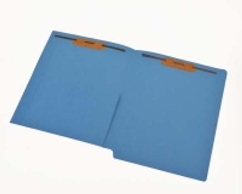 Lavender pocket folder-inside front panel. Fasteners 1 & 3 - Box of 50