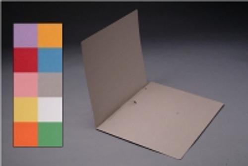 White pocket folder-inside front panel. - Box of 50