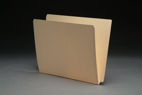 """SFI-DCC-11 - 11 pt Manila Folders, Full Cut 2-Ply End Tab, Letter Size, SFI Style, 9"""" Drop Front (Box of 100)"""