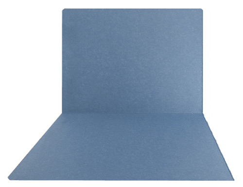 Top-Tab Folder - Smead Compatible - 11Pt. Top Tab Letter Full Cut - Blue - Reinforced Tab - 100/BX