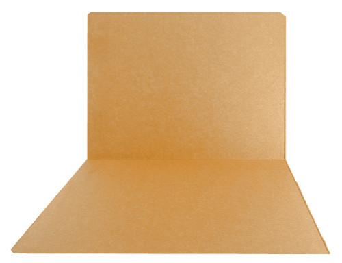 Top-Tab Folder - Smead Compatible - 11Pt. Top Tab Letter Full Cut - Goldenrod - Reinforced Tab - 100/BX