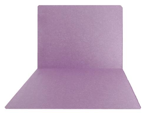 Top-Tab Folder - Smead Compatible - 11Pt. Top Tab Letter Full Cut - Lavender- 100/BX