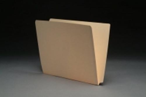 SFI-FDCC-11 - 11 pt Manila Folders, Full Cut 2-Ply End Tab, Letter Size, SFI Style, (Box of 100)