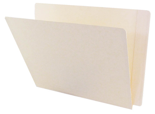 ACME Compatible Folders - 11Pt. Manila End-Tab Letter Full Cut Reinforced Tab- Bonded Fastener Positions 3&5 - 50/BX