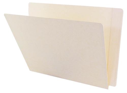ACME Compatible Folders - 14Pt. Manila End-Tab Letter Full Cut Reinforced Tab- Bonded Fastener Positions 3&5 - 50/BX