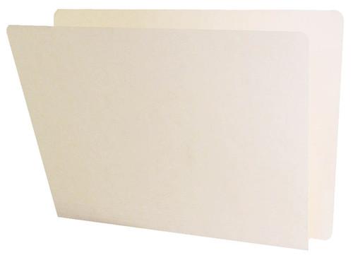 ACME Compatible Folders - 14Pt. Manila End-Tab Letter Full Cut Single Ply Tab - 100/BX