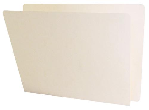 ACME Compatible Folders - 14Pt. Manila End-Tab Letter Full Cut Single Ply Tab - 50/BX