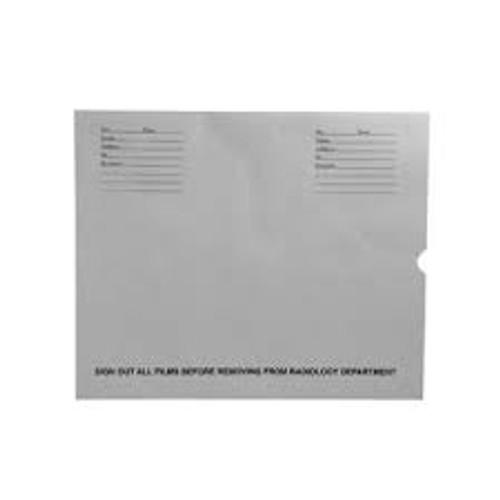 "32lb Gray Kraft Negative Preserver, Open End, Standard Imprint, 14-1/2"" x 17-1/2"" (Carton of 500)"