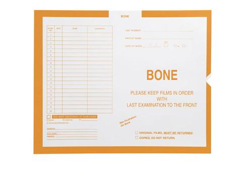 "Bone, Yellow #115 - Category Insert Jackets, System II, Open End - 14-1/4"" x 17-1/2"" (Carton of 250)"