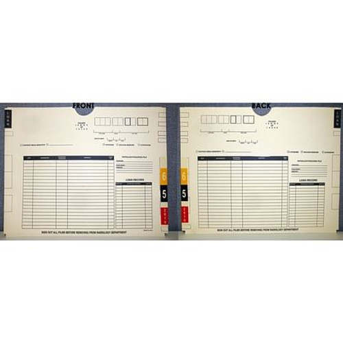 FCXB-1814-CC | XJ1100 - 11 pt. Manila, Ames TD-2, 2022 Year, No Pocket, 14 1/2 x 18 1/4   -100/Carton