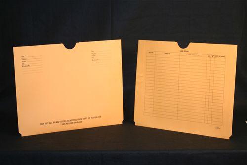 Medical Folder Economy X-Ray Jacket.  10 pt. Brown Kraft.  Expansion = 3/4 inch.  Size 14 1/2 X 18 1/4.  100 Jackets per Carton