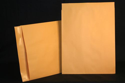 Medical Folder Negative Preservers with Flap- Open End.  32 lb. Brown Kraft Stock, 500 Negative Preservers per Carton, Size 14 1/2 X 17 1/2