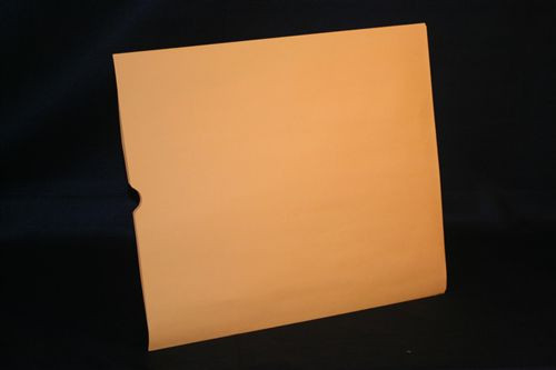 Medical Folder Heavy Duty Negative Preservers- Open End - 32# Brown Kraft Stock, Size 14 1/2 X 17 1/2 - Plain without Print - 500/Case