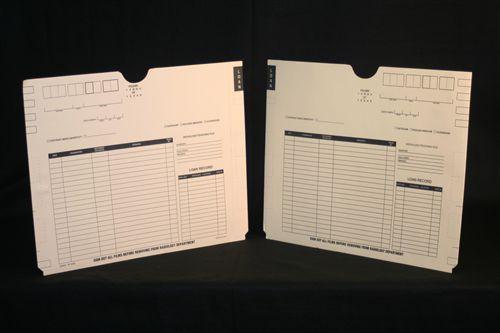 "Medical Folder X-Ray Jacket- Heavyweight Without Pocket. 11 pt. Manila Stock, Size 18 1/4 W X 14 1/2"" H, 100 Jackets per Carton"
