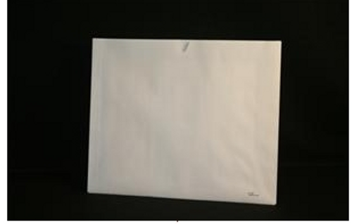 "Medical Folder Open Top Category Insert - White Stock -Plain, No Print - Size 14 1/2"" X 17 1/2"" - 250/Carton"