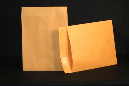 Medical Folder Negative Preservers with Flap- Open End.  32 lb. Brown Kraft Stock, 500 Negative Preservers per Carton, Size 10 1/2 X 12 1/2