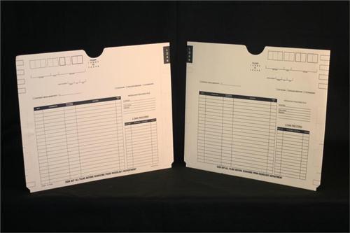 Medical Folder X-Ray Jacket - Heavyweight Without Pocket -  11 pt. Manila Stock -  Size 14 1/2 X 18 1/4 - 100/Carton