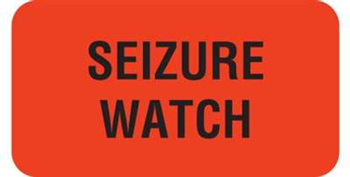 """Seizure Watch 1-5/8""""x7/8"""" Fl-Red"""