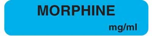 "Morphine 1-1/4""x5/16"" Lt-Blue"