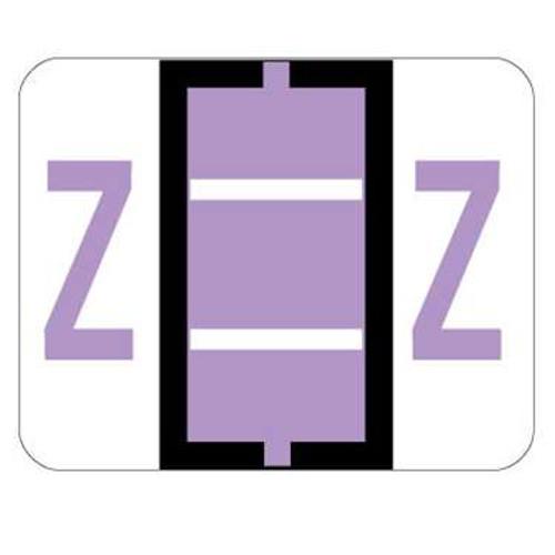Smead Alphabetic Labels - BCCR Series (Rolls) Z- Lilac