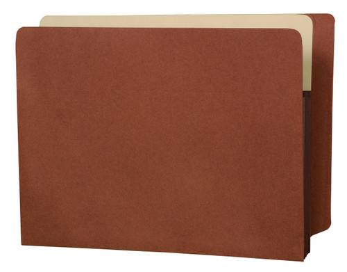 "Accordion Expansion folder - Full Side Tab folder - 3-1/2"" Accordion Expansion - Letter Size - Tyvek Gusset - 50/Carton"