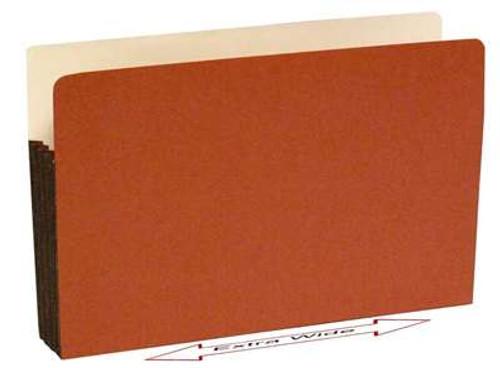 "Premium Line Top Tab File folder 5.25"" Accordion Expansion 10"" x 15"" x 5-1/4"" Legal Size, 50/Box"
