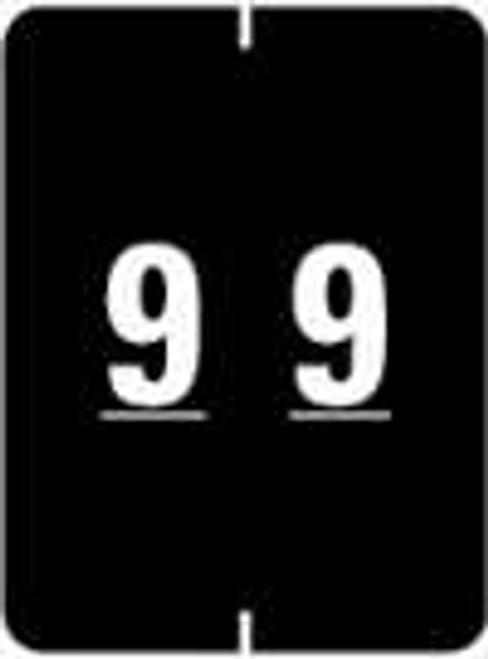 IFC Numeric Label - CL2200 Series (Rolls) - 9 - Black