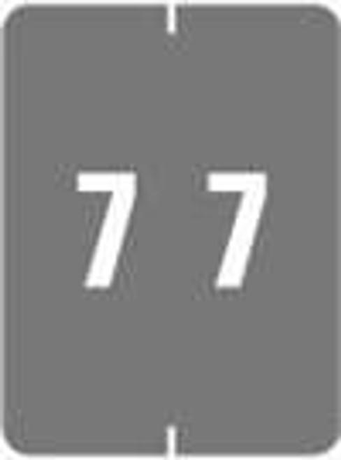 IFC Numeric Label - CL2200 Series (Rolls) - 7 - Gray