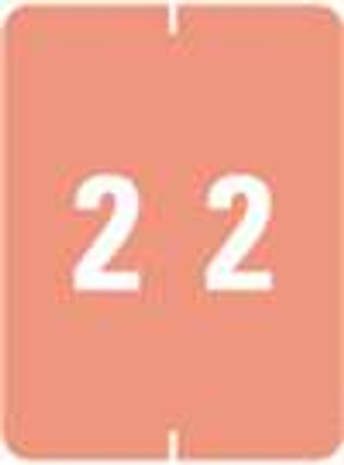 IFC Numeric Label - CL2200 Series (Rolls) - 2 - Pink