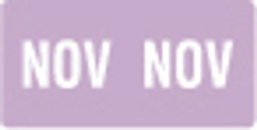 Smead Month Labels - ETS Series (Sheet) - November/Lavender -250/Pack
