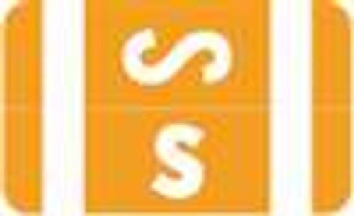 Smead Alphabetic Labels - Alpha-Z ACC Series (Rolls) S- Orange