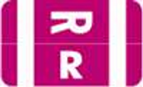 Smead Alphabetic Labels - Alpha-Z ACC Series (Rolls) R- Purple