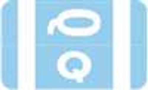 Smead Alphabetic Labels - Alpha-Z ACC Series (Rolls) Q- Lt. Blue